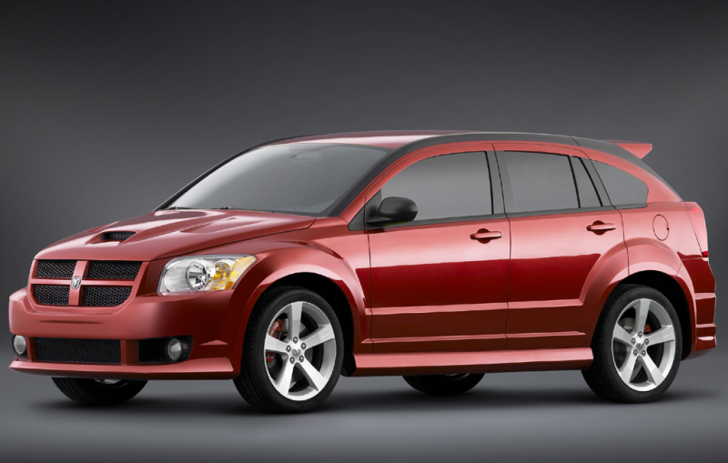 The Dodge Caliber SRT-4 features 19-inch aluminum wheels wrapped with ...