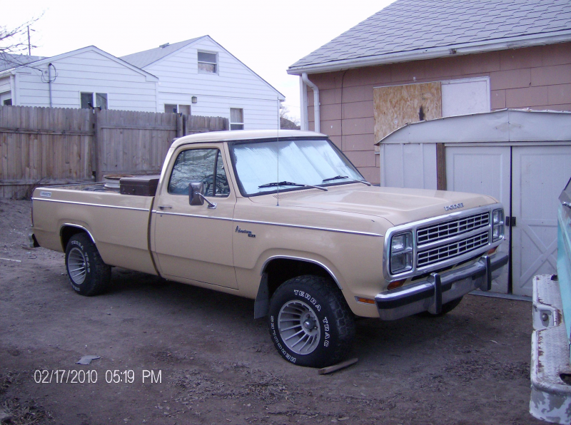 DODGELOVER1990's 1979 Dodge D150 Regular Cab