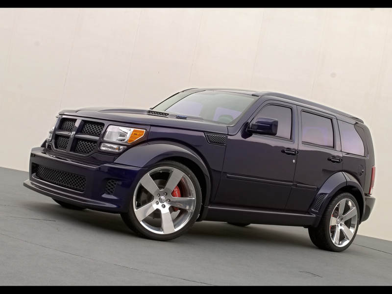 2006 Dodge Nitro HEMI Concept - Front And Side - 1024x768 - Wallpaper