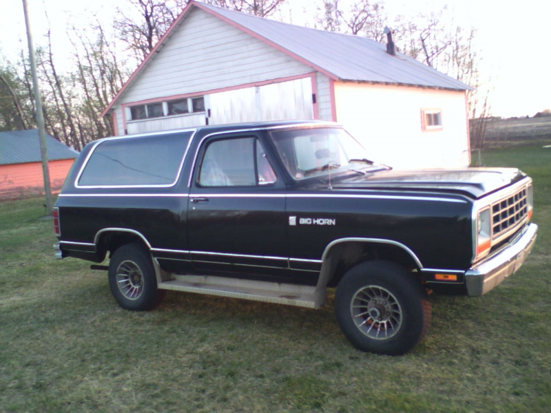 1981 Dodge Ramcharger, After, exterior