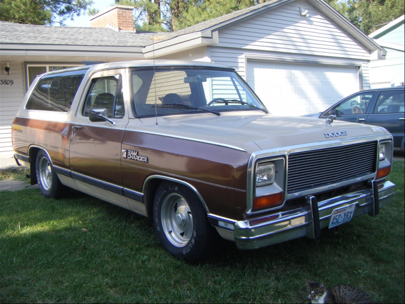 Now for your viewing pleasure I present my 1983 Dodge Ramcharger 2wd