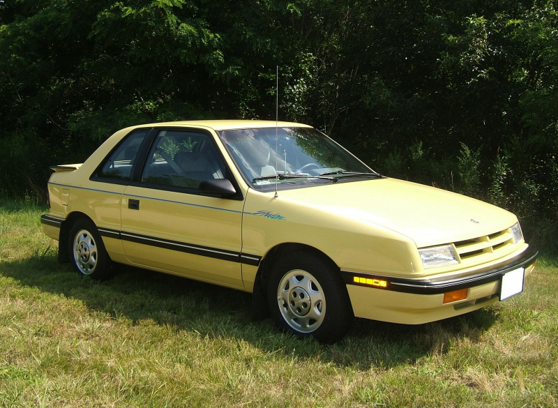 Picture of 1989 Dodge Shadow, exterior