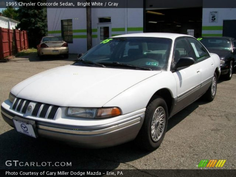 1995 Chrysler Concorde Sedan in Bright White. Click to see large photo ...