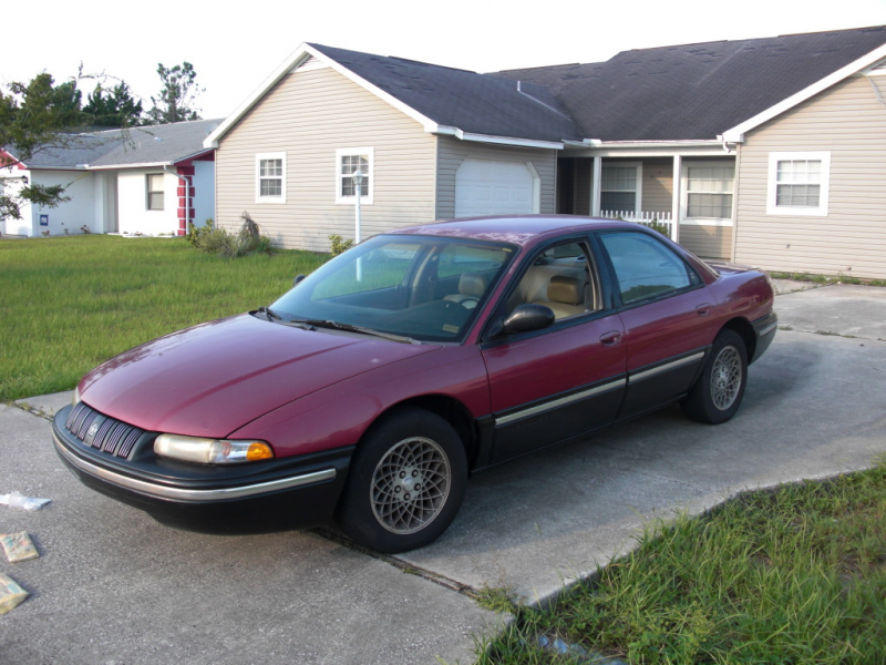 1993 Chrysler Concorde - Pictures - 1993 Chrysler Concorde 4 Dr ST ...