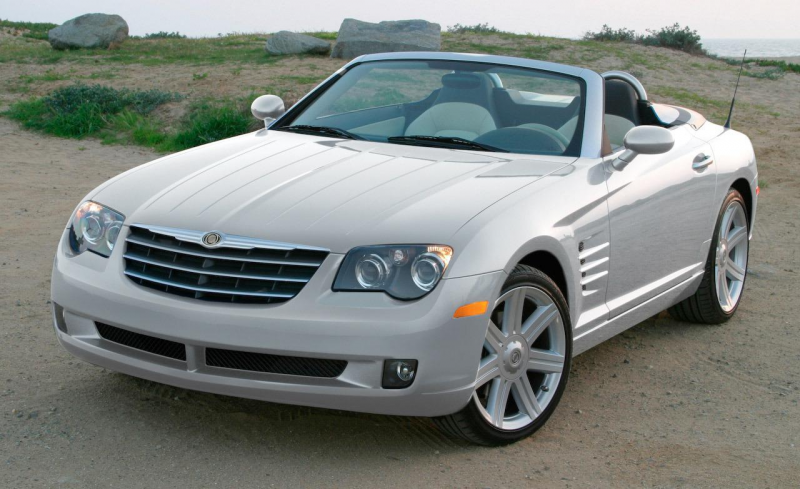 2007 Chrysler Crossfire convertible