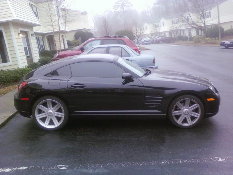 freedyg s 2007 chrysler crossfire 2007 crossfire all black still stock
