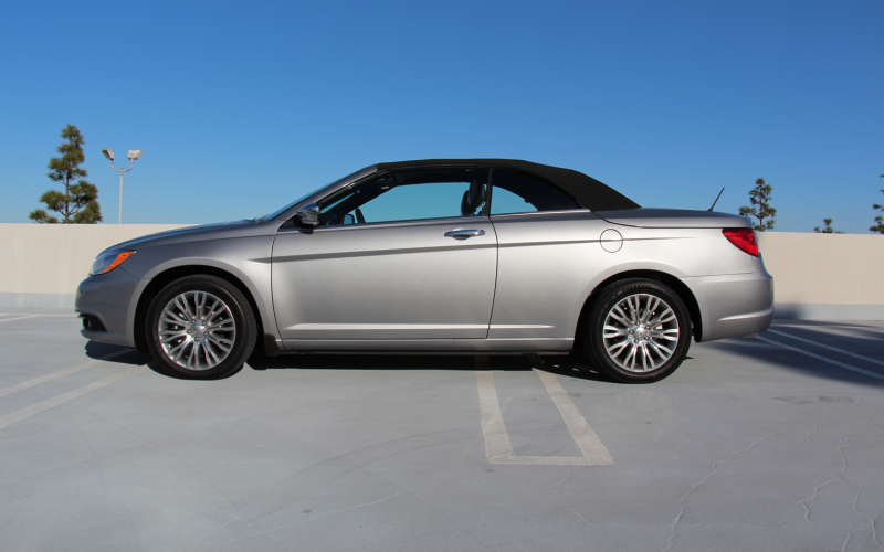 Our Cars: 2013 Chrysler 200 Limited Convertible Photo Gallery