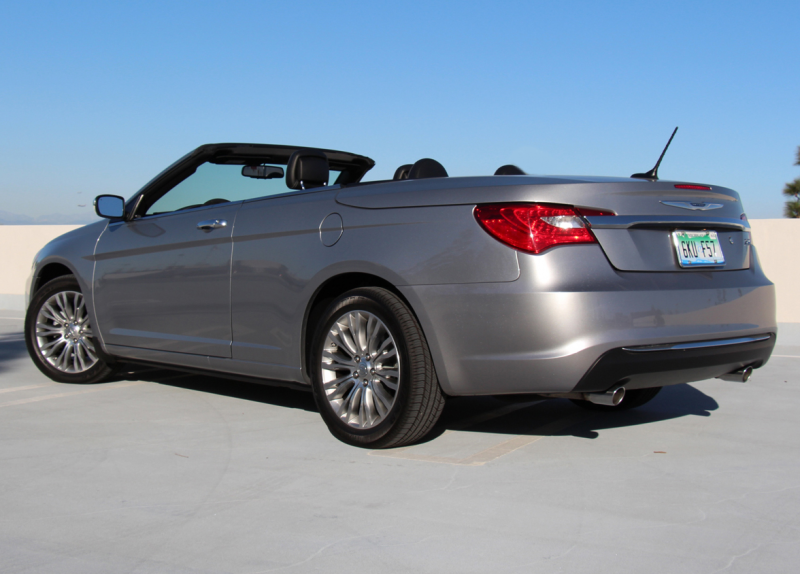 2013 Chrysler 200 Limited Convertible Rear Three Quarter Close
