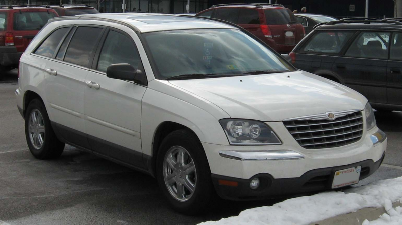 Chrysler Pacifica 2010 Model Gallery