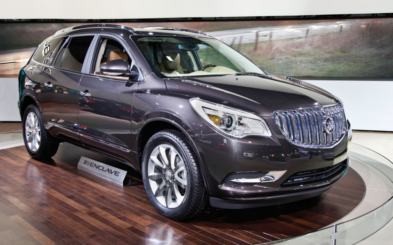 for 2014, the Buick Enclave sees meet a few changes. All Enclaves ...