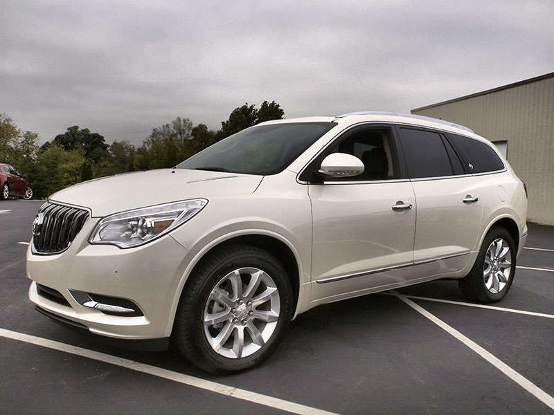 the 2014 buick enclave finds itself at a bit of a crossroads in the ...