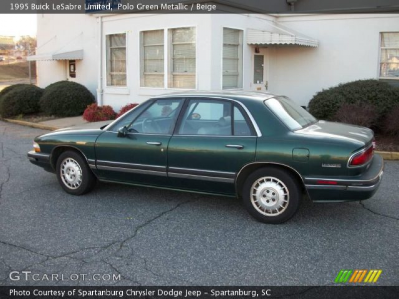 1995 Buick LeSabre Limited in Polo Green Metallic. Click to see large ...