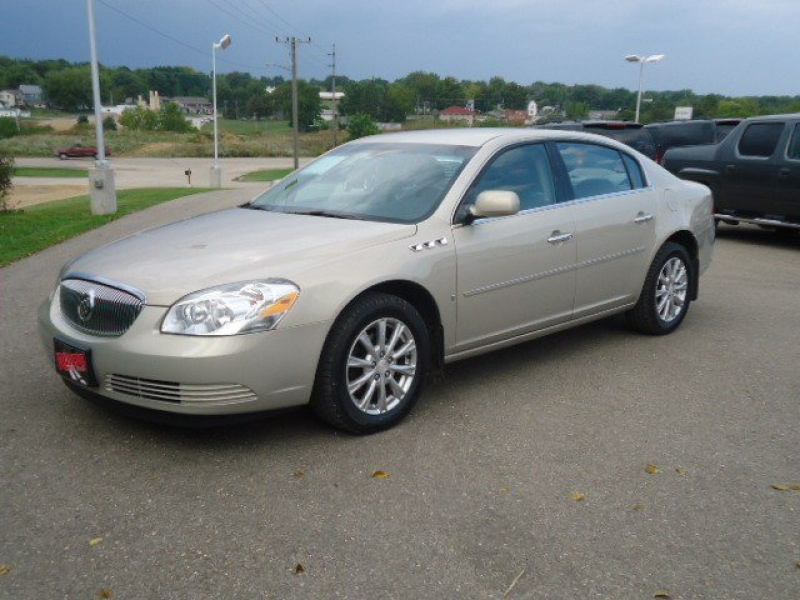 buick lucerne cx gold 2009