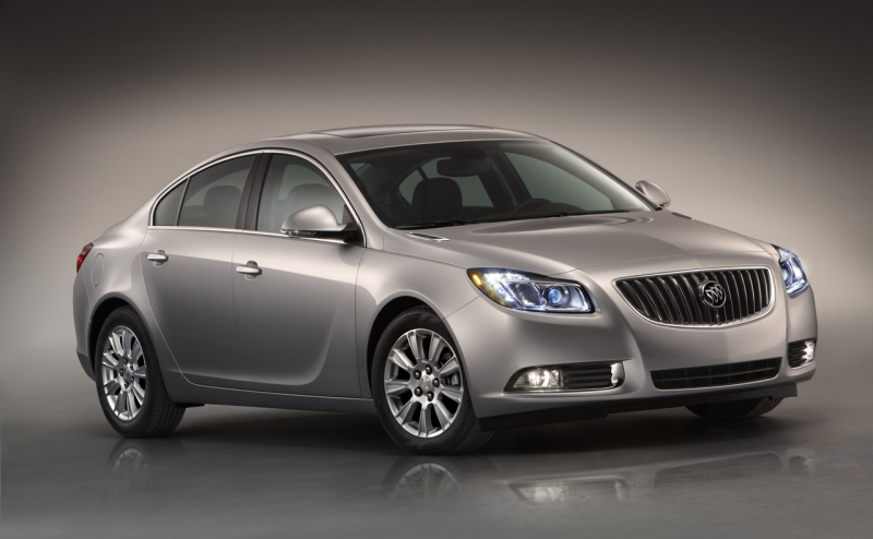 2012 Buick Regal eAssist Officially Gets 26/37 mpg