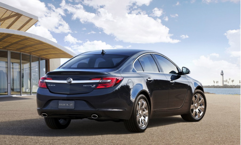 2014 Buick Regal Debuts With All-Wheel Drive In New York