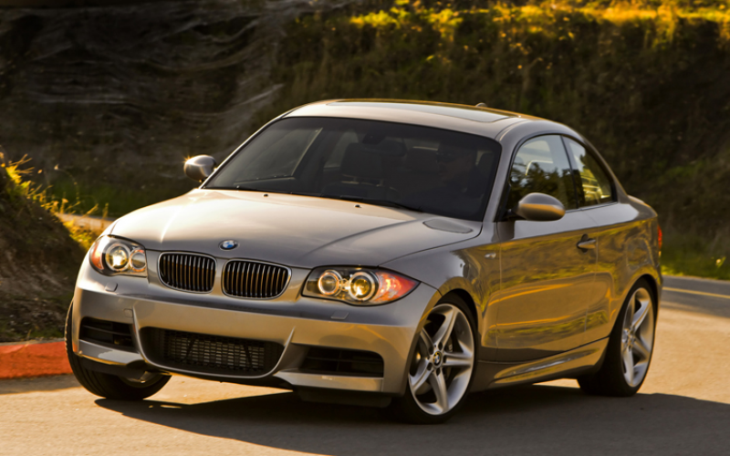 2008 Bmw 128 Coupe Front View