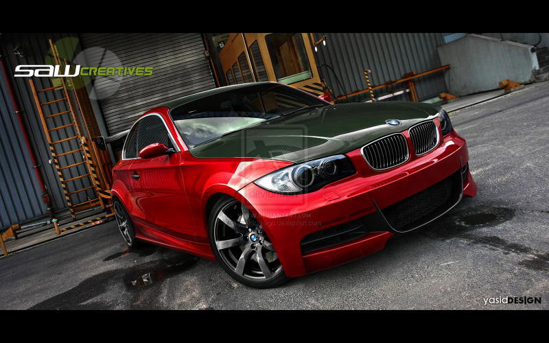 BMW 135i 2009 yasidDESIGN by yasiddesign