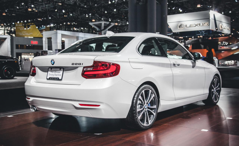 2015 BMW 228i with Track Handling Package