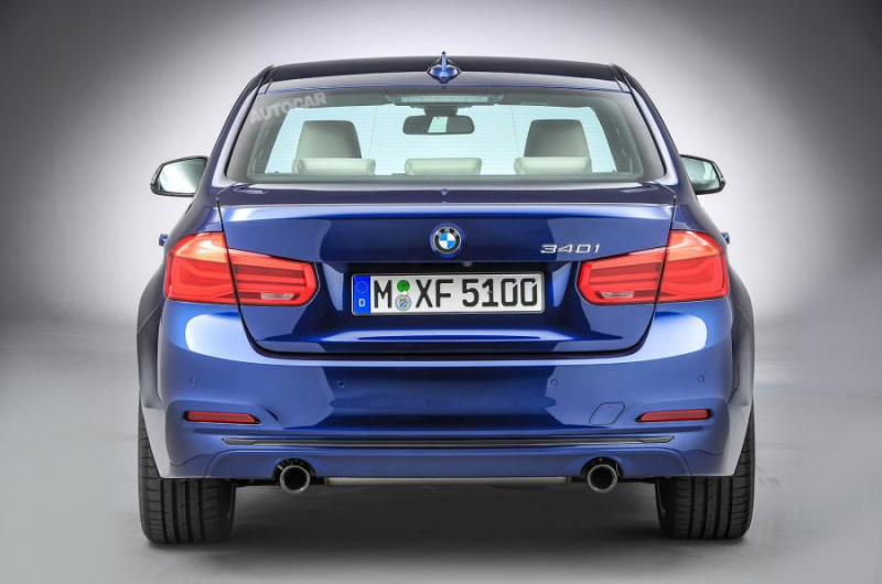 2015 bmw 3 series facelift revealed 2015 bmw 3 series