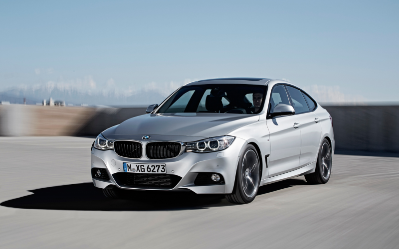 2014 BMW 3 Series Gran Turismo Front Three Quarters In Motion 4 Photo ...