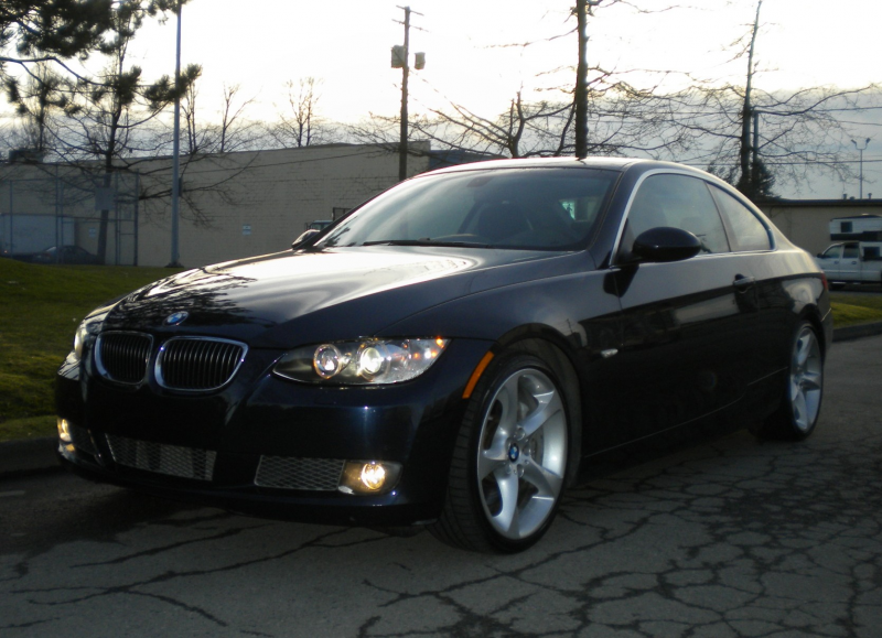 2008 BMW 335 Coupe Vehicle Specification