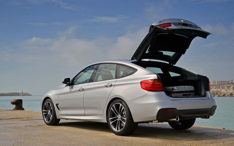 2014 Bmw 335I Gran Turismo Rear Three Quarter