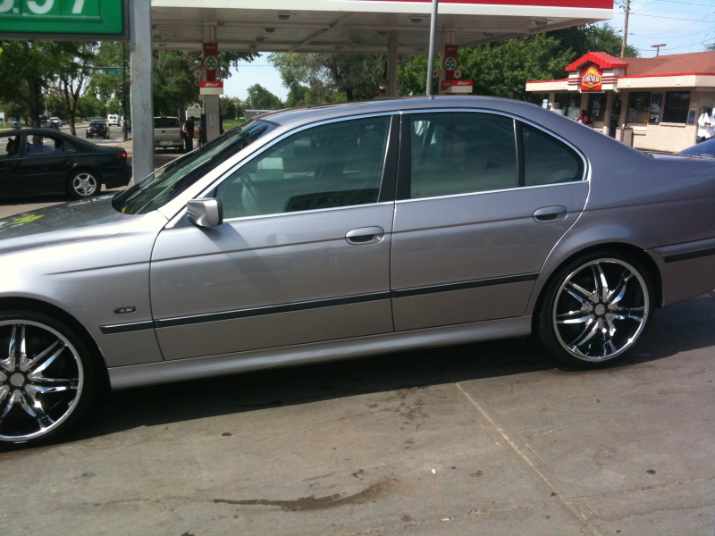 1998 BMW 5 Series 540i picture, exterior