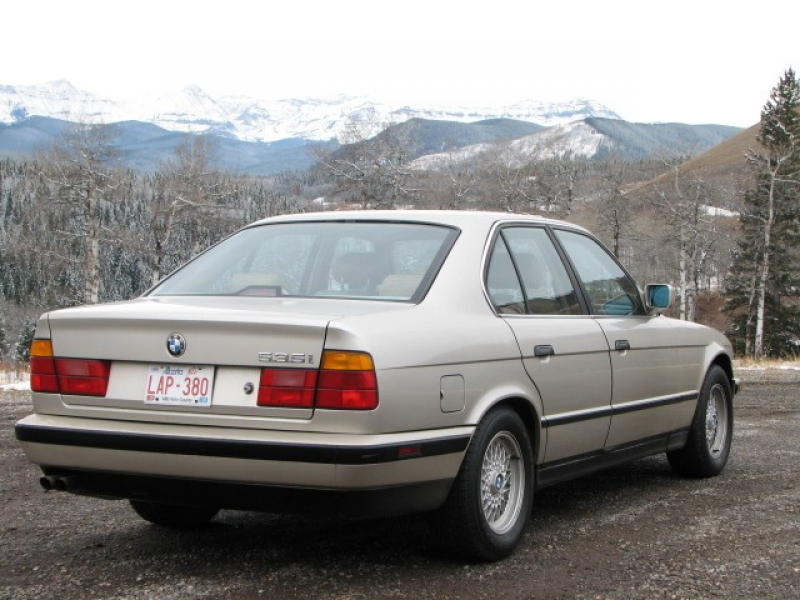 1989 BMW 5 Series 535 535i/A in Turner Valley, Alberta image 2