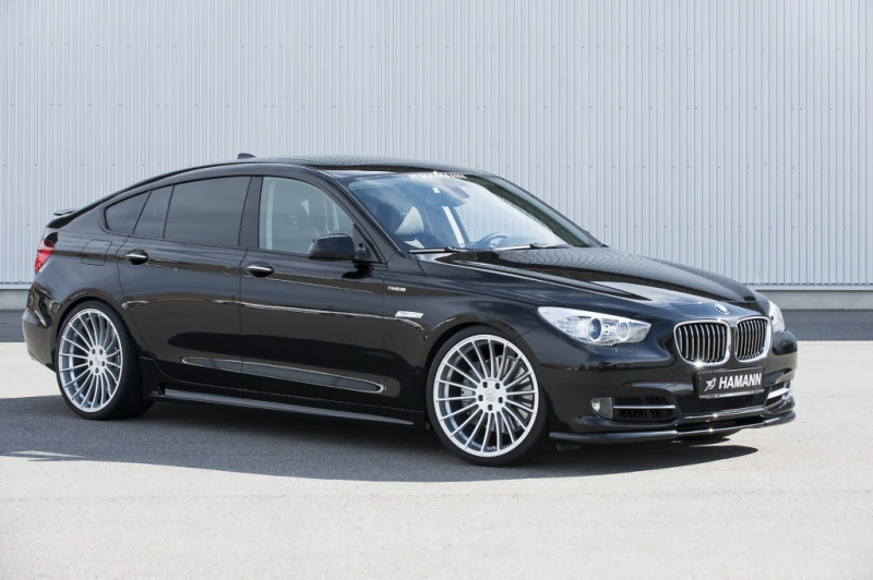 BMW 5 Series Gran Turismo 2014 side view sedan body and five passenger ...