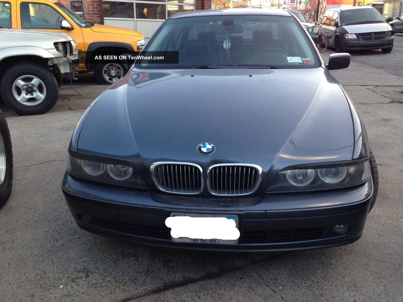 2001 Bmw 540i 6 - Speed Manual. M - Package 5-Series photo