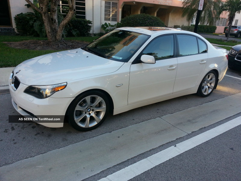 2006 Bmw 5 Series 550i 550 Sport Package No Accident No Smoking Hud ...