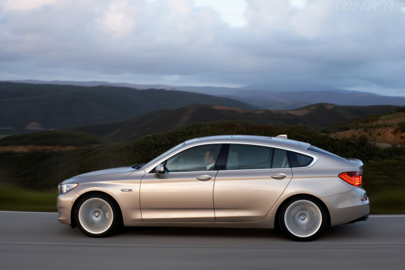 BMW 550i Gran Turismo High Resolution Image (4 of 12)