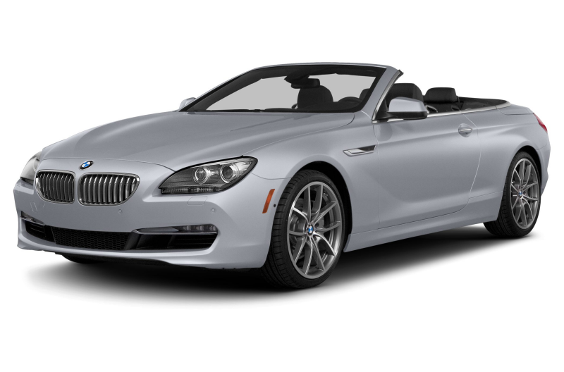 2015 BMW 640 Convertible i 2dr Rear wheel Drive Convertible Photo 1