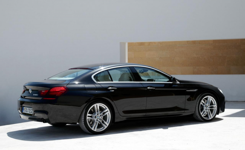 2013 BMW 640i Gran Coupé with M Sport Package