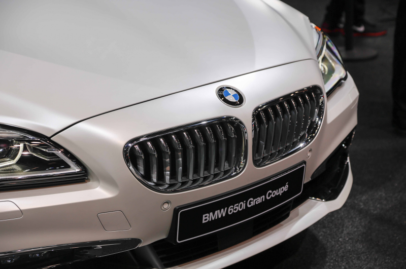 2016 Bmw 650I Gran Coupe Front Grille