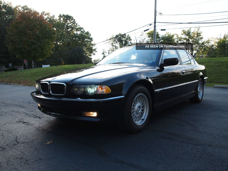 2001 Bmw 740 I With In 7-Series photo 2