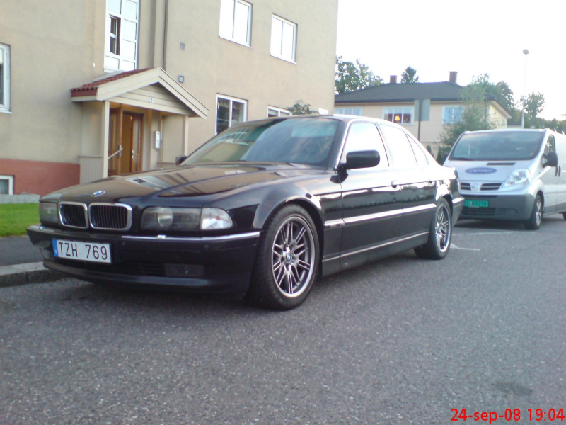1995 BMW 7 Series 750i, 1995 BMW 750 750i picture, exterior