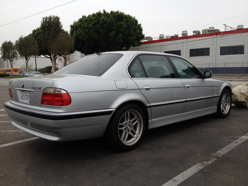 Gallery Picture Of 2001 Bmw 7 Series 740il Exterior 2001 Bmw 7 Series