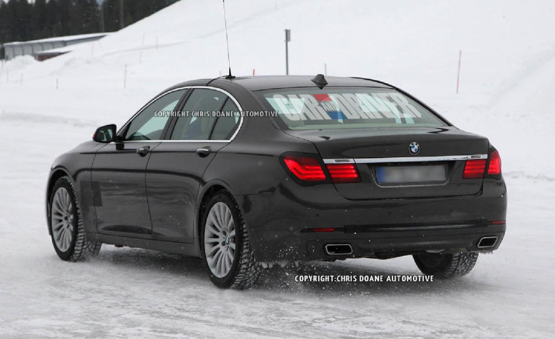 2013 BMW 7-series (spy photo)