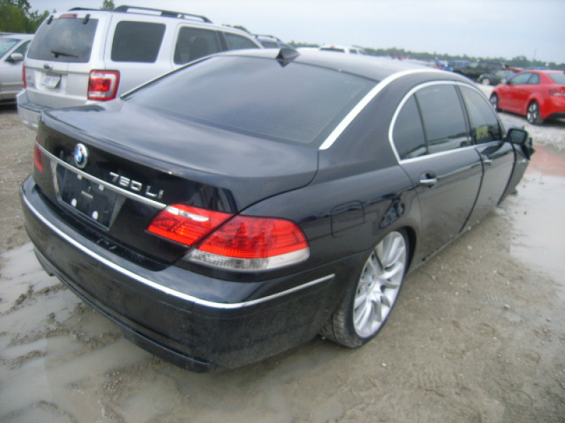 Salvage BMW 760 2008 for sale
