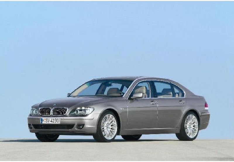 BMW 760 (2005-2008, E65) Front + links