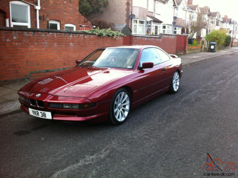 1991 BMW 850 I RED MANUAL V12 - GREAT CONDITION - LOOKS TO DIE FOR ...
