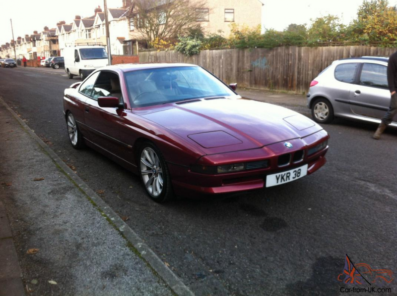 1991 BMW 850 I RED MANUAL V12 - GREAT CONDITION - LOOKS TO DIE FOR - 6 ...