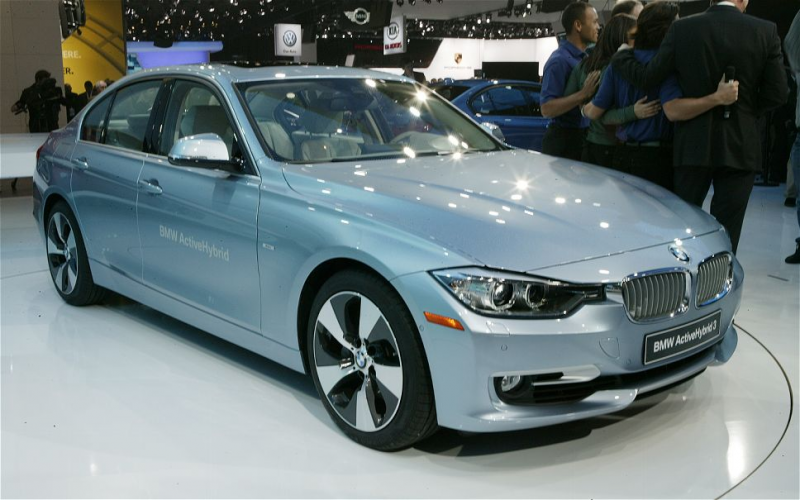 2015 BMW ActiveHybrid 3 front grill photo