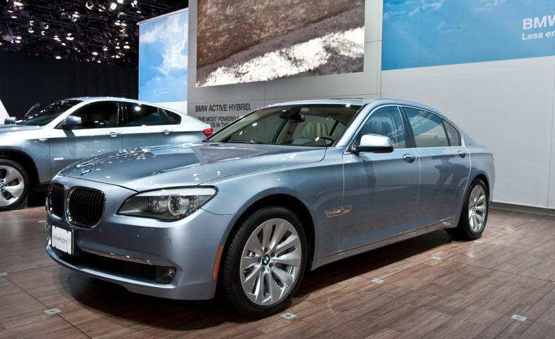 Luxury automobile manufacturer BMW Wednesday launched ActiveHybrid 7 ...