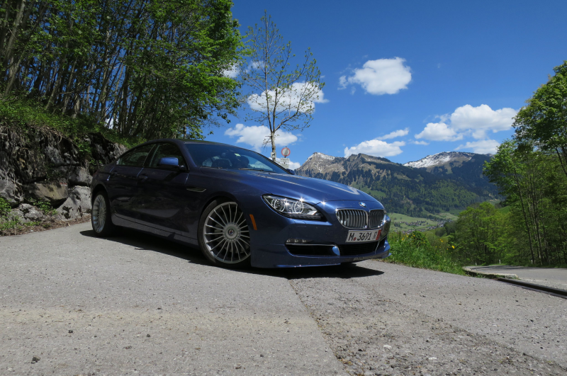 2015 Bmw Alpina B6 Xdrive Gran Coupe With Mountains