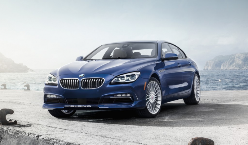 2016 BMW Alpina B6 xDrive Gran Coupe Preview