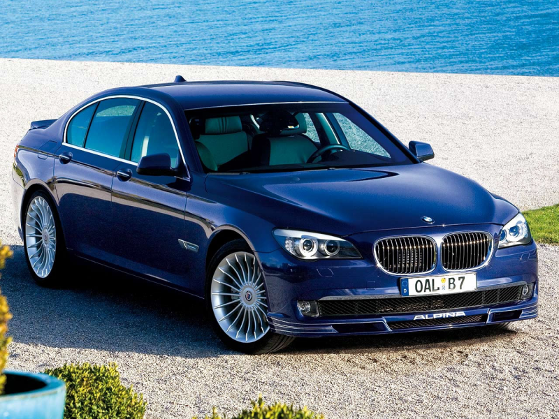 The 2013 BMW Alpina B7 Gets Upgraded!