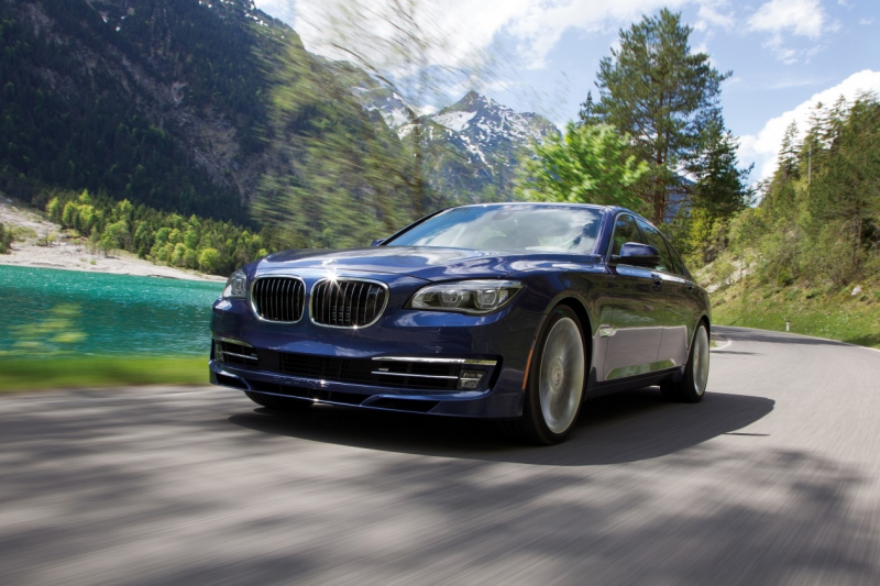 BMW Alpina B7 2013 super high performance luxury sedan