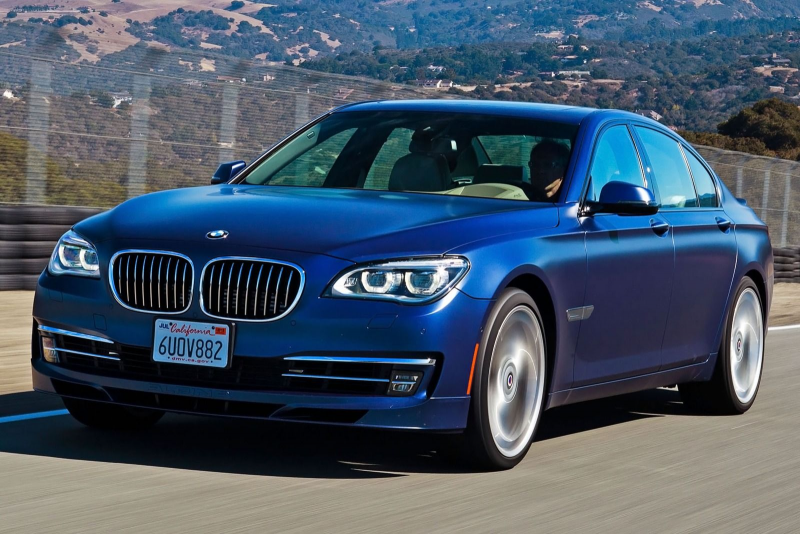 2015 BMW ALPINA B7 SWB 4dr Sedan (4.4L 8cyl Turbo 8A) | Front Quarter